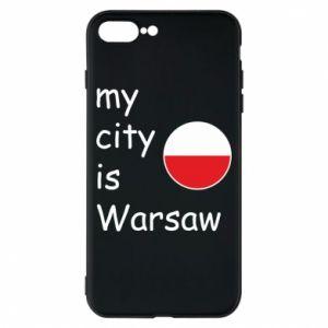 Etui na iPhone 8 Plus My city is Warszaw