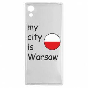 Sony Xperia XA1 Case My city is Warsaw