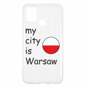 Samsung M31 Case My city is Warsaw