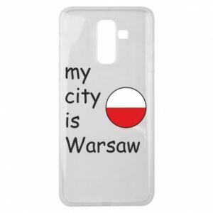 Samsung J8 2018 Case My city is Warsaw