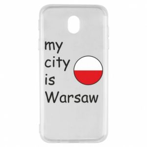 Samsung J7 2017 Case My city is Warsaw