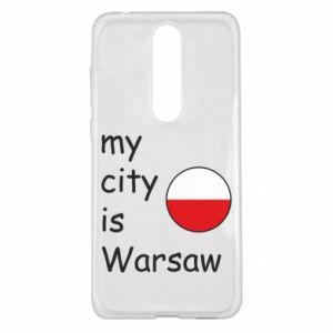 Nokia 5.1 Plus Case My city is Warsaw