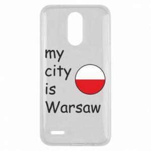 Lg K10 2017 Case My city is Warsaw