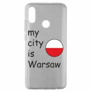 Huawei Honor 10 Lite Case My city is Warsaw