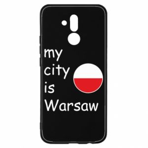 Huawei Mate 20Lite Case My city is Warsaw