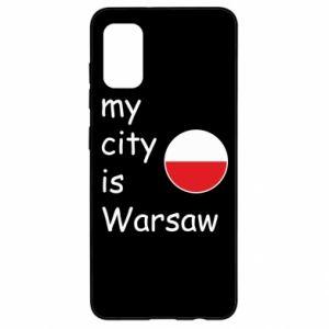 Samsung A41 Case My city is Warsaw
