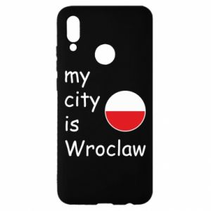 Huawei P Smart 2019 Case My city isWroclaw
