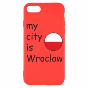 Etui na iPhone SE 2020 My city is Wroclaw