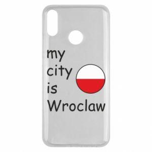 Etui na Huawei Y9 2019 My city is Wroclaw