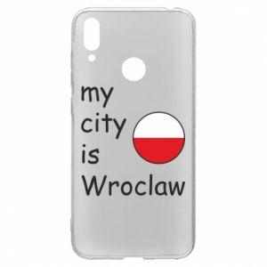 Huawei Y7 2019 Case My city isWroclaw