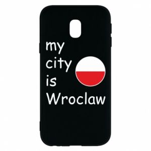 Phone case for Samsung J3 2017 My city isWroclaw