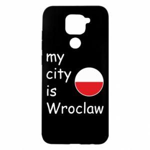 Xiaomi Redmi Note 9 / Redmi 10X case % print% My city isWroclaw
