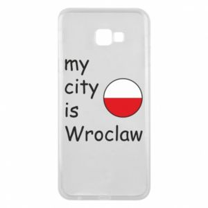 Phone case for Samsung J4 Plus 2018 My city isWroclaw
