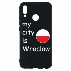 Phone case for Huawei P20 Lite My city isWroclaw