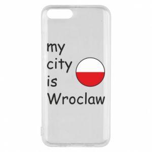 Etui na Xiaomi Mi6 My city is Wroclaw