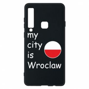 Phone case for Samsung A9 2018 My city isWroclaw