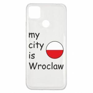 Etui na Xiaomi Redmi 9c My city is Wroclaw