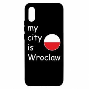 Etui na Xiaomi Redmi 9a My city is Wroclaw