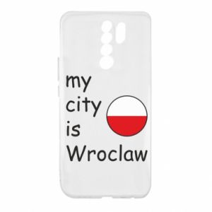 Xiaomi Redmi 9 Case My city isWroclaw