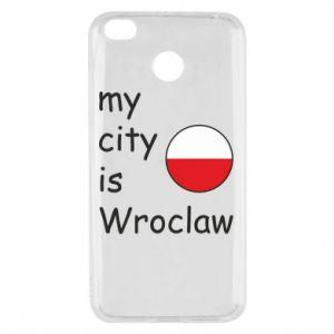 Etui na Xiaomi Redmi 4X My city is Wroclaw