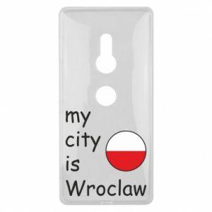Etui na Sony Xperia XZ2 My city is Wroclaw