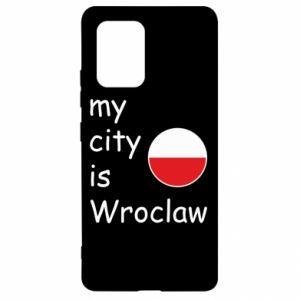 Samsung S10 Lite Case My city isWroclaw