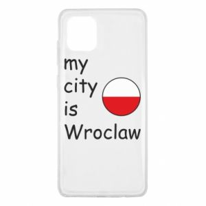 Samsung Note 10 Lite Case My city isWroclaw