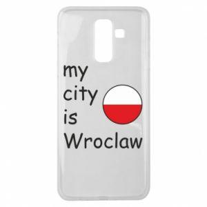 Etui na Samsung J8 2018 My city is Wroclaw