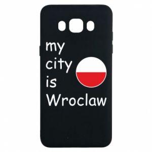 Etui na Samsung J7 2016 My city is Wroclaw