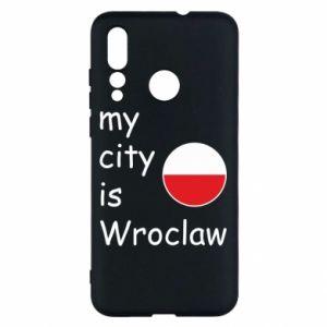 Etui na Huawei Nova 4 My city is Wroclaw