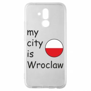 Huawei Mate 20Lite Case My city isWroclaw
