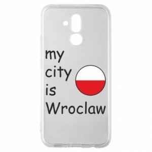Etui na Huawei Mate 20 Lite My city is Wroclaw
