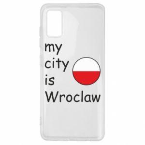Samsung A41 Case My city isWroclaw