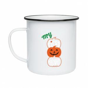 Kubek emaliowany My first halloween