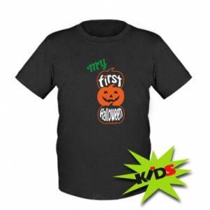 Koszulka dziecięca My first halloween