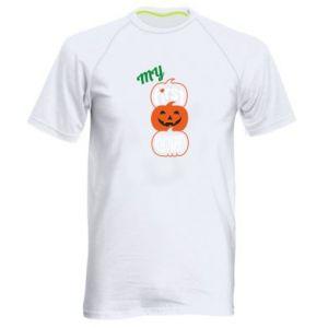 Koszulka sportowa męska My first halloween