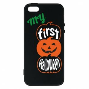 Phone case for iPhone 5/5S/SE My first halloween - PrintSalon