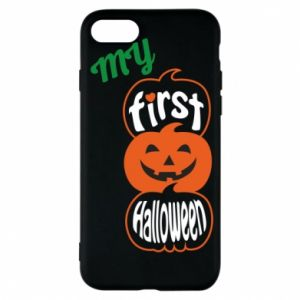 Phone case for iPhone 7 My first halloween - PrintSalon