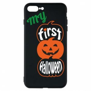 Phone case for iPhone 8 Plus My first halloween - PrintSalon