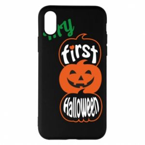 Phone case for iPhone X/Xs My first halloween - PrintSalon
