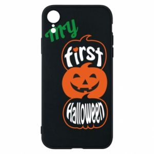 Phone case for iPhone XR My first halloween - PrintSalon
