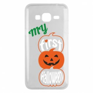 Phone case for Samsung J3 2016 My first halloween