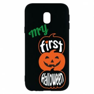 Phone case for Samsung J3 2017 My first halloween