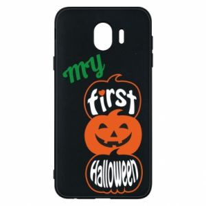 Phone case for Samsung J4 My first halloween
