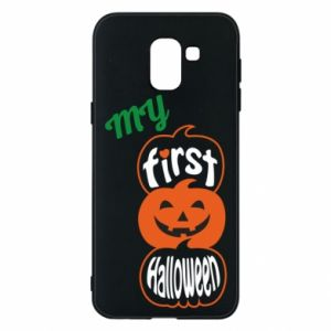 Phone case for Samsung J6 My first halloween