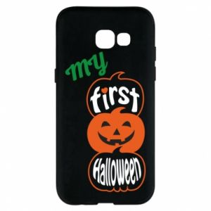 Phone case for Samsung A5 2017 My first halloween - PrintSalon