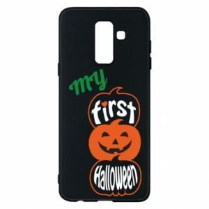 Phone case for Samsung A6+ 2018 My first halloween - PrintSalon