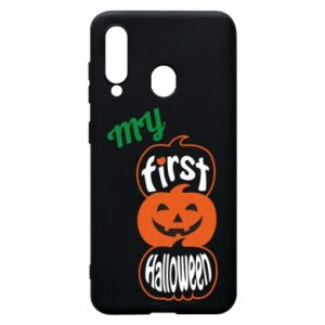 Phone case for Samsung A60 My first halloween - PrintSalon