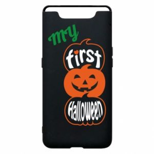 Phone case for Samsung A80 My first halloween - PrintSalon