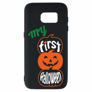 Phone case for Samsung S7 My first halloween - PrintSalon